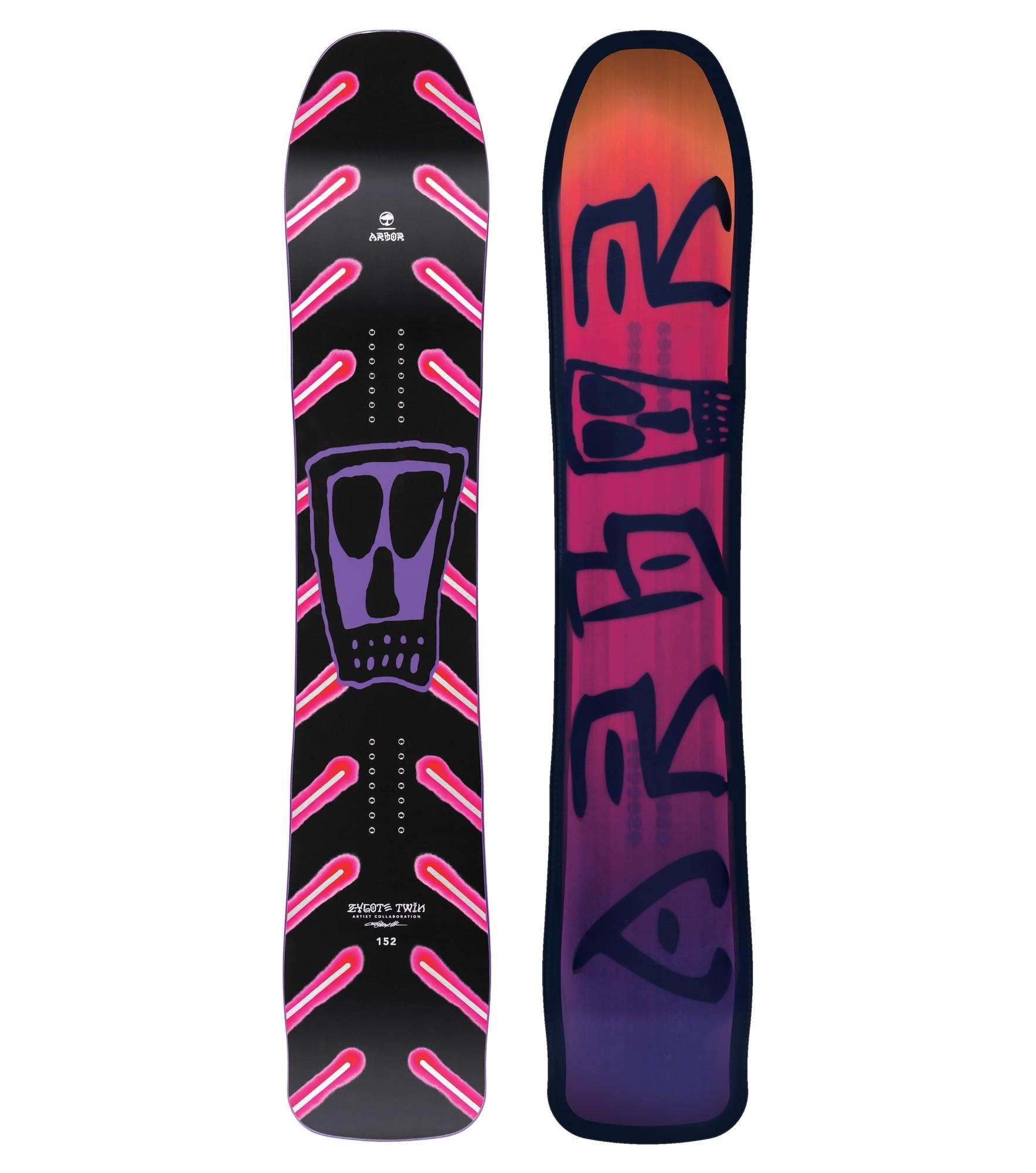 Afbeelding van Snowboard Heren ARBOR ZYGOTE TWIN 154 wide