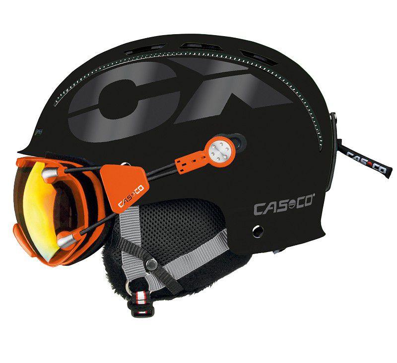 Afbeelding van Skihelm CASCO CX 3 ICECUBE black L