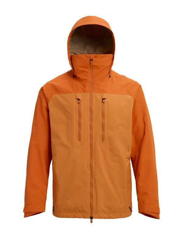 BURTON [AK] 2L GORE SWASH JACKET Golden oak Mauset