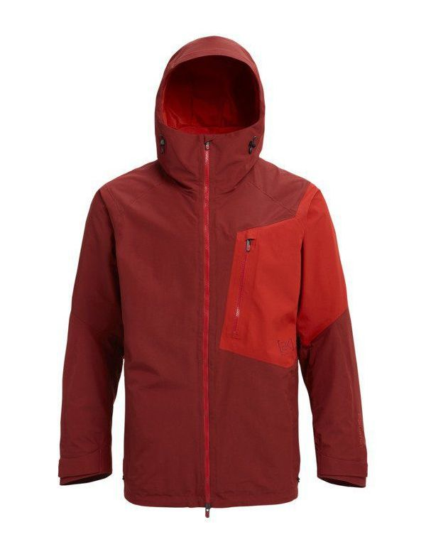 BURTON [AK] 2L GORE CYCLIC JACKET Sparr Bitter Red