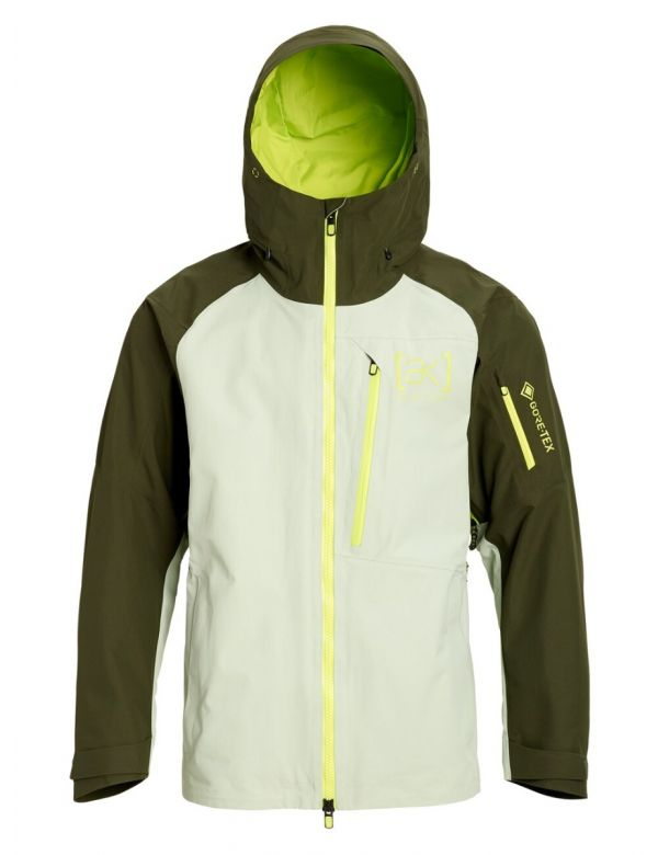 BURTON AK GORE CYCLIC JACKET Aqua gray/Fores night