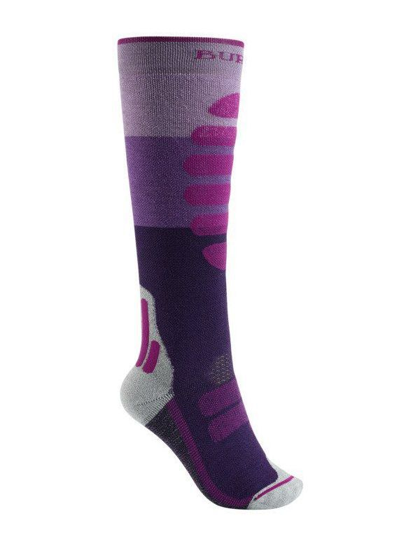 BURTON WOMEN'S MID-WEIGHT SOCK Canvas Block