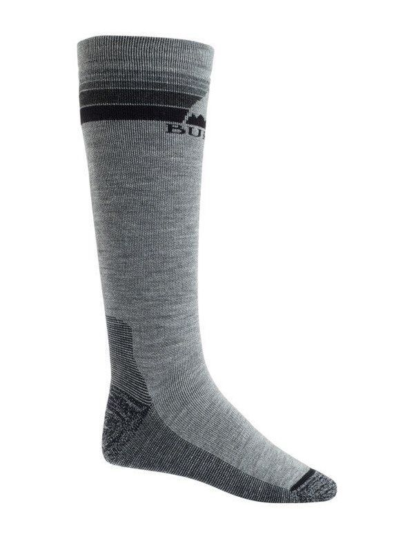 BURTON MEN'S EMBLEM SOCK Gray heather