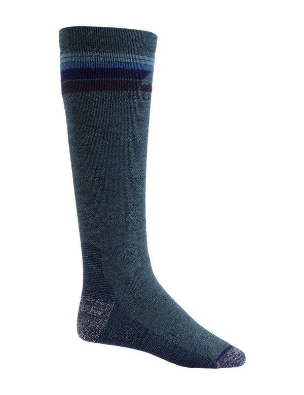 BURTON MEN'S EMBLEM SOCK Indigo heather