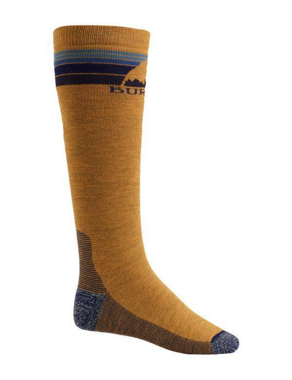 BURTON MEN'S EMBLEM SOCK Golden oak