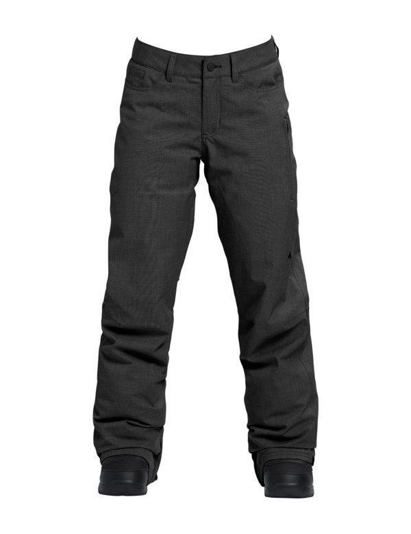 BURTON FLY PANT True black heather