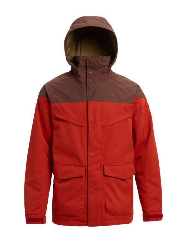 BURTON BREACH JACKET Bitter chestwax