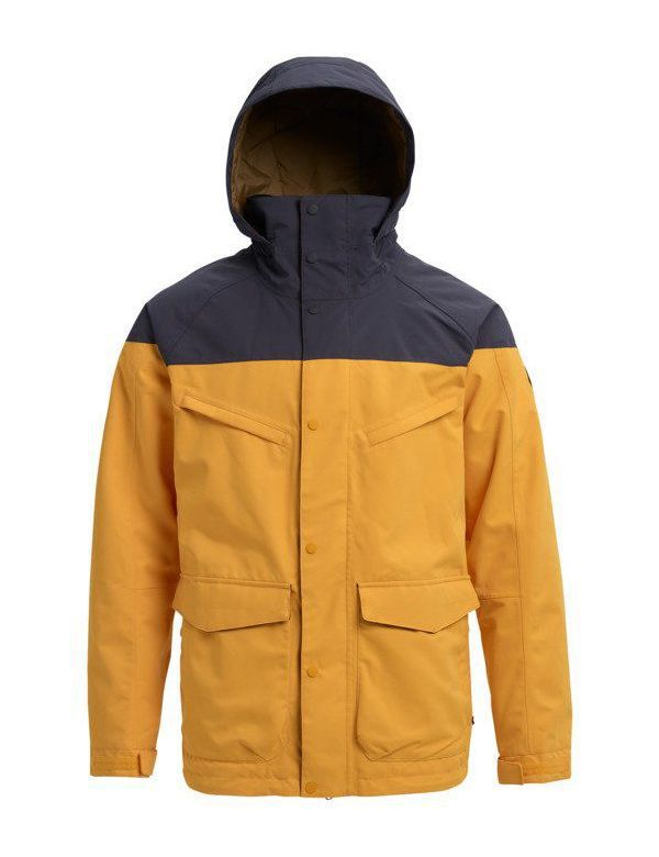 BURTON BREACH JACKET Goldrod tracer