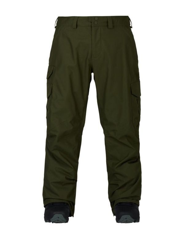 BURTON CARGO PANT TALL Forest night