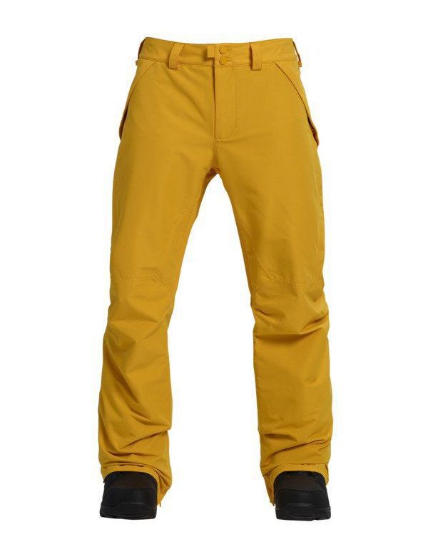 BURTON VENT PANT Golden rod