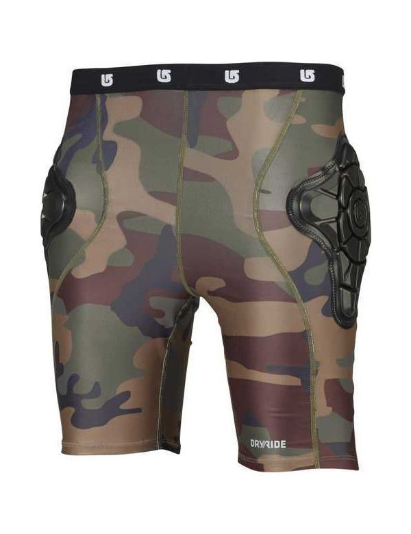 BURTON YOUTH TOTAL IMPACT SHORT highland camo