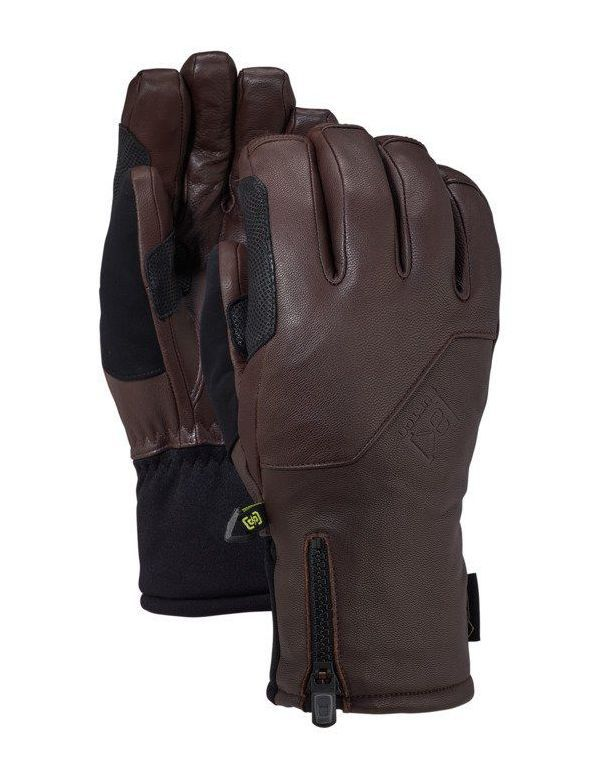BURTON AK GORE‑TEX® GUIDE GLOVE Medium brown