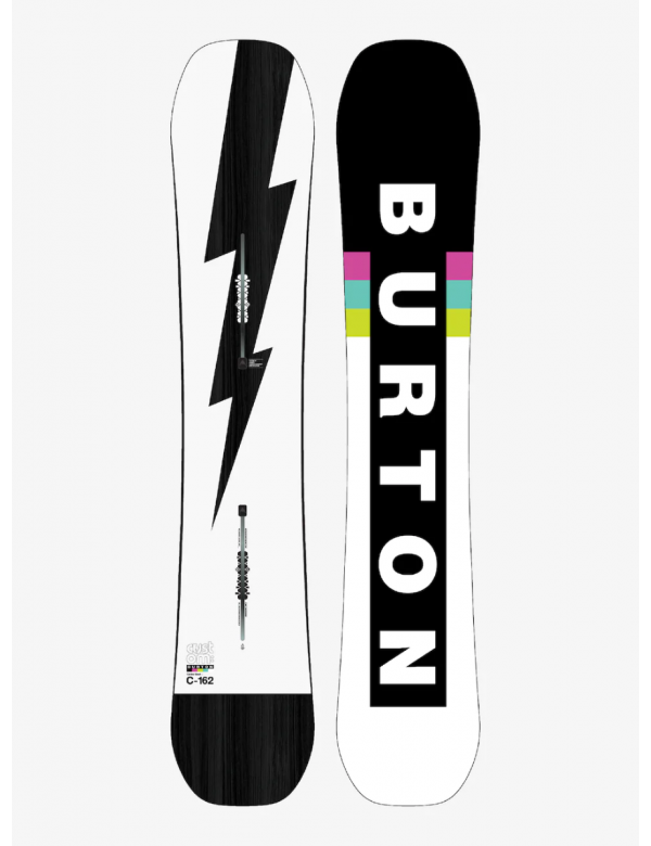 BURTOM CUSTOM CAMBER Black white