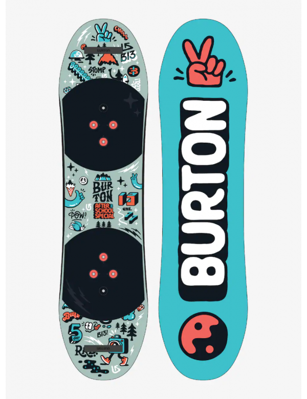 BURTON AFTER SCHOOL KIDS SNOWBOARD SET