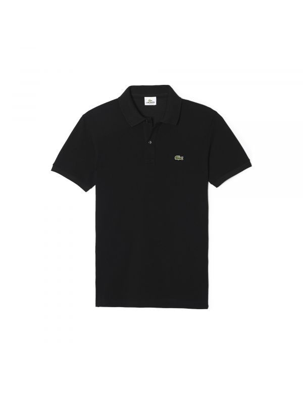 LACOSTE SLIM FIT POLO Black