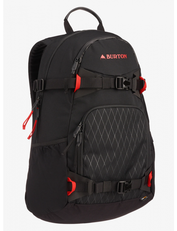 BURTON RIDER'S 2.0 25L BACKPACK Black Cordura