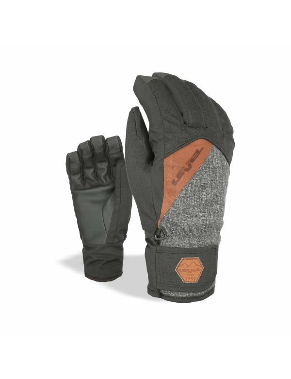 LEVEL CRUISE GLOVE PK BLACK BROWN