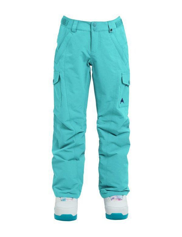 BURTON ELITE CARGO GIRL PANTS Aruba blue