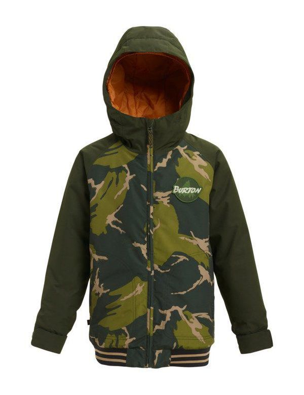 BURTON BOYS GAMEDAY JACKET Mountain camo