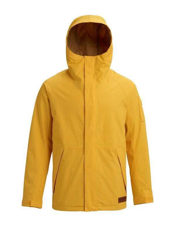 BURTON HILLTOP JACKET Golden rod
