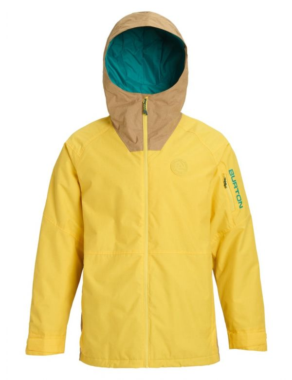 BURTON HILLTOP JACKET Maize/Kelp