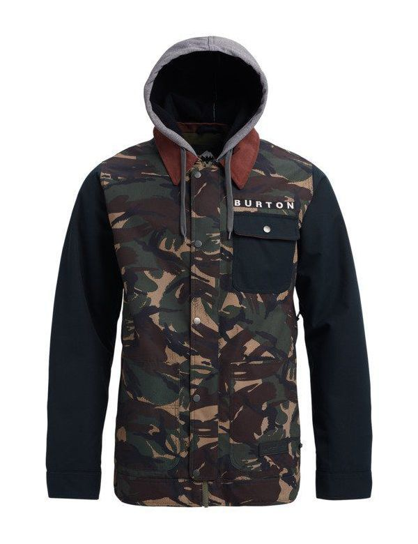 BURTON DUNMORE JACKET Camo true black