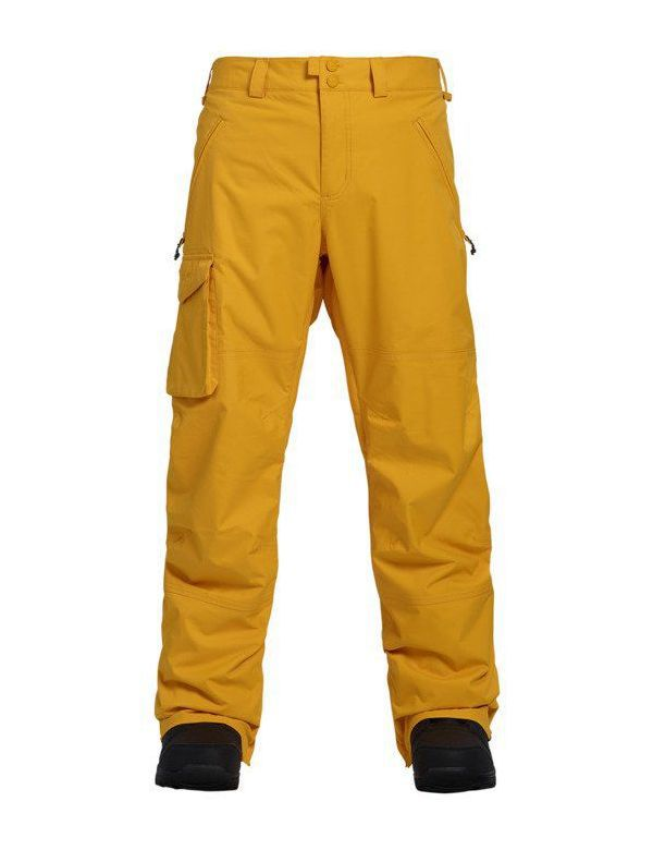 BURTON COVERT PANT INSULATED Golden rod