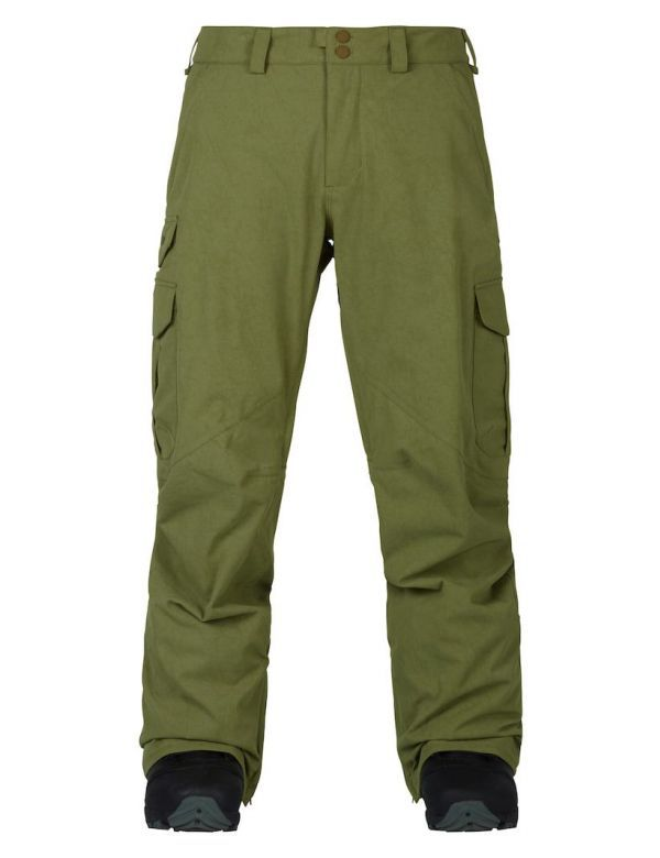 BURTON CARGO PANT MID FIT olive branch distress