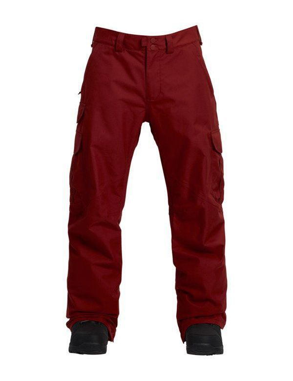 BURTON CARGO PANT REGULAR FIT Sparrow red