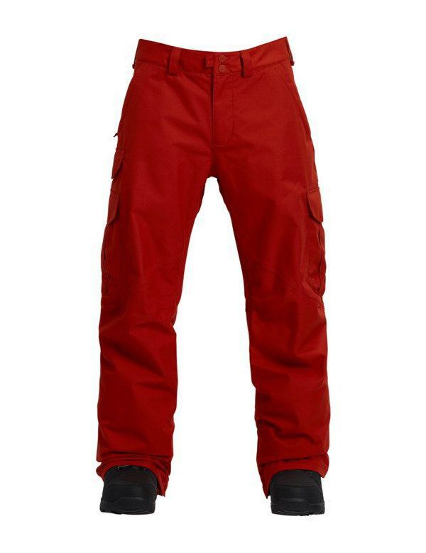BURTON CARGO PANT REGULAR FIT Bitters red