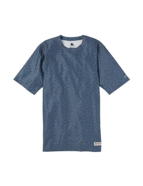 BURTON LIGHT-WEIGHTED TEE Indigo twill