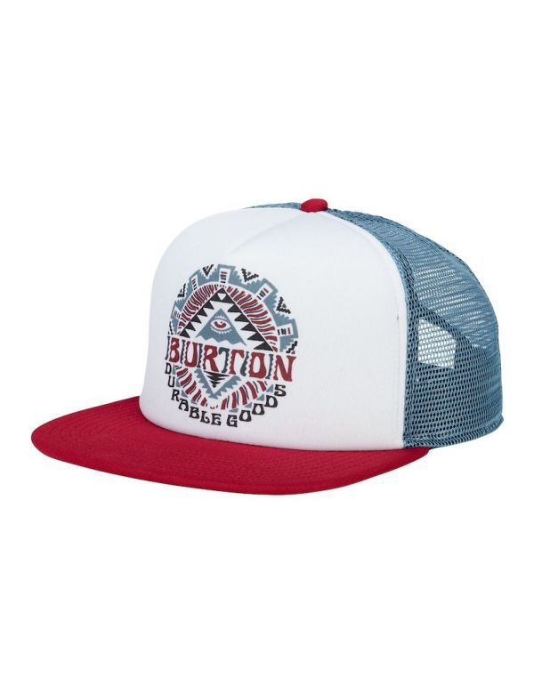 BURTON MEN'S SNAPBACK fired brick
