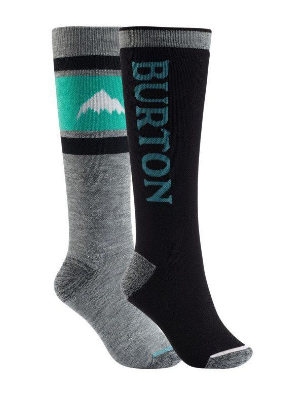 BURTON WOMEN'S WEEKEND 2-PACK MID WEIGHTED True black