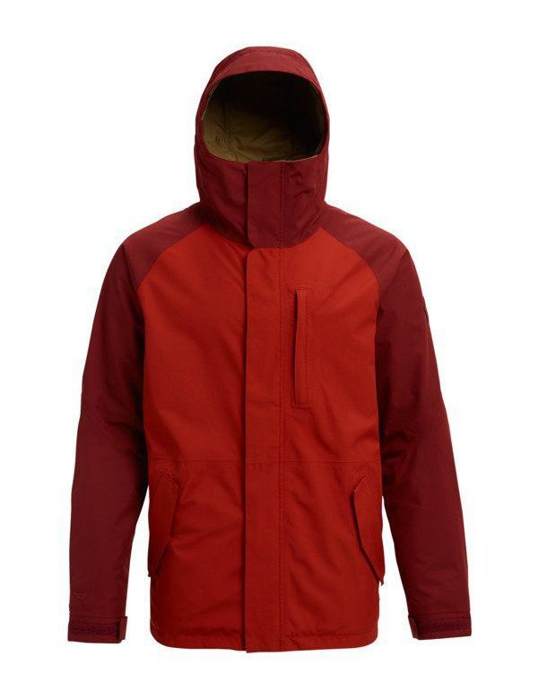 BURTON GORE-TEX RADIAL JACKET Bitter sparrow red