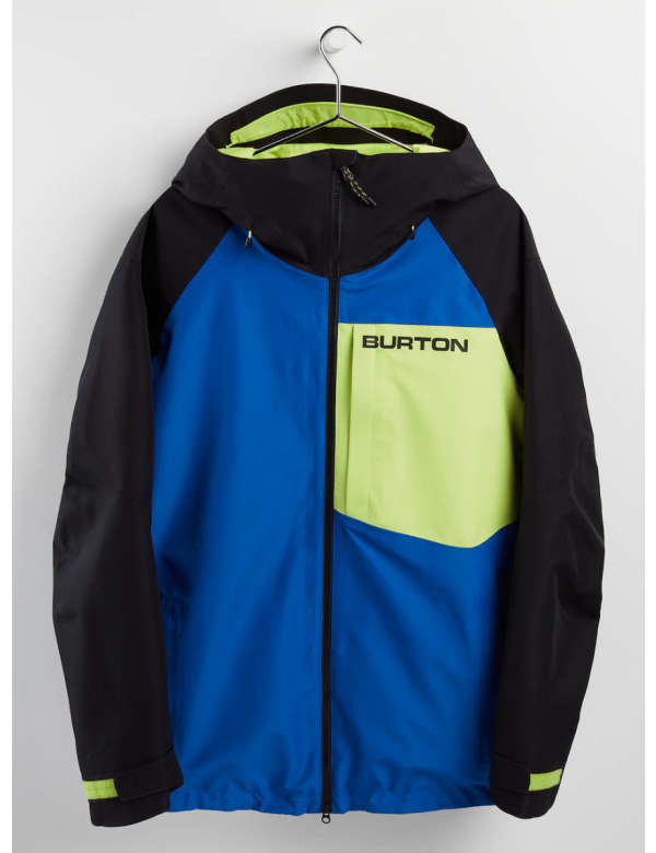 BURTON GORE-TEX RADIAL INSULATED JACKET Lapis Blue / True Black / Limeade