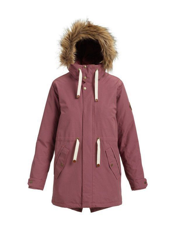 burton saxton parka forest night