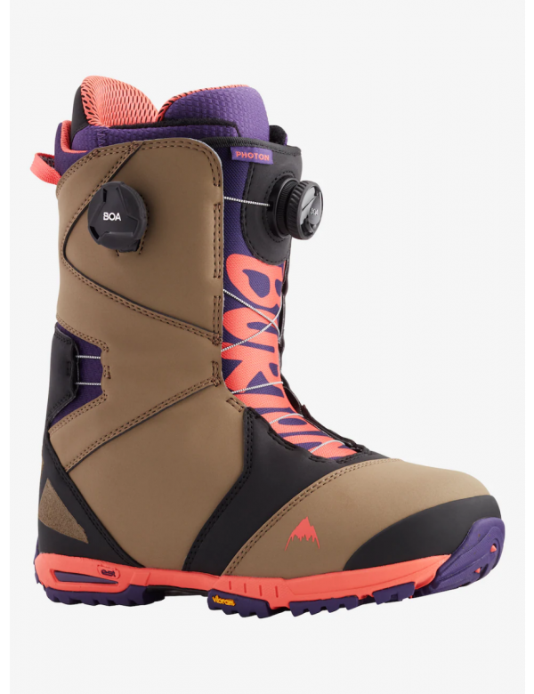 BURTON PHOTON BOA Ash / Purple / Pop Red