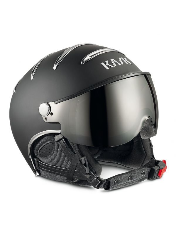 KASK CHROME BLACK ZILVER