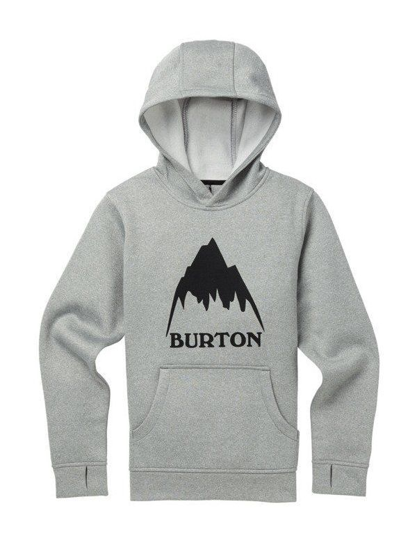 BURTON BOYS OAK PULL-OVER Monument heather