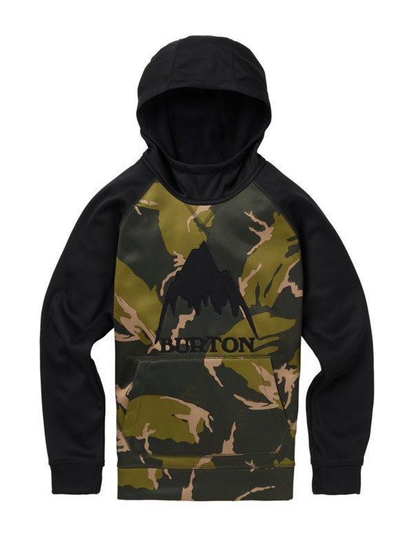 BURTON BOY CROWN BONDED PULL OVER Mountain camo