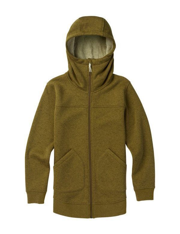 BURTON WOMEN'S MINXY FULL ZIP Hickory