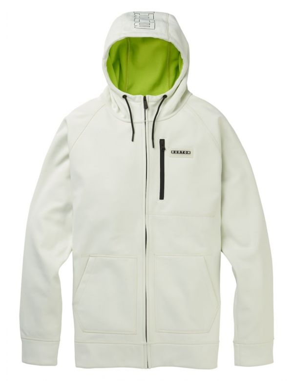 BURTON CROWN BONDED FULL- ZIP HOODIE Stout white