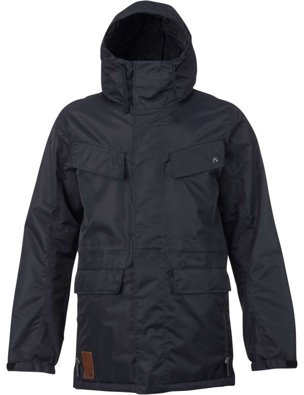 ANALOG MERCHANT JACKET true black