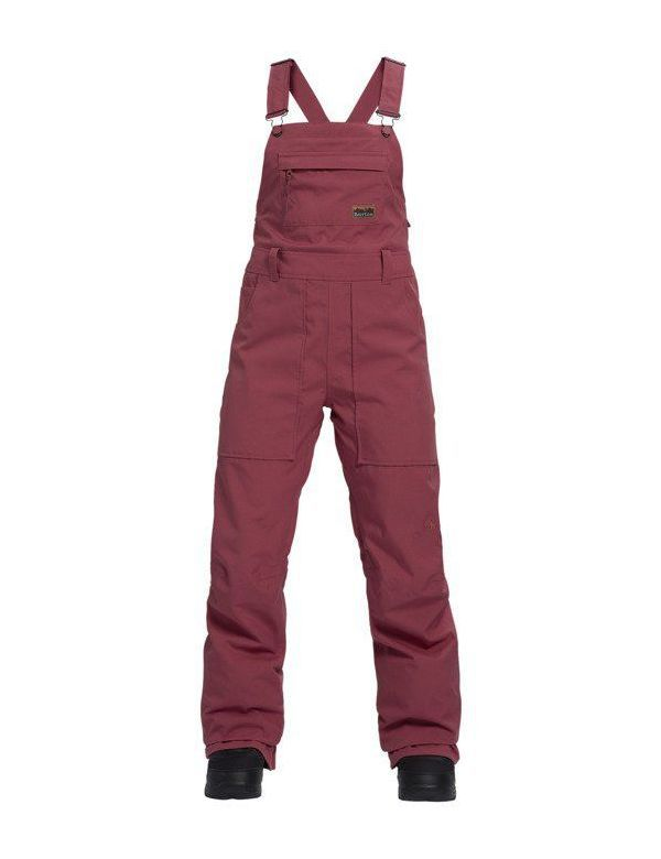 BURTON AVALON BIB PANT Rose brown