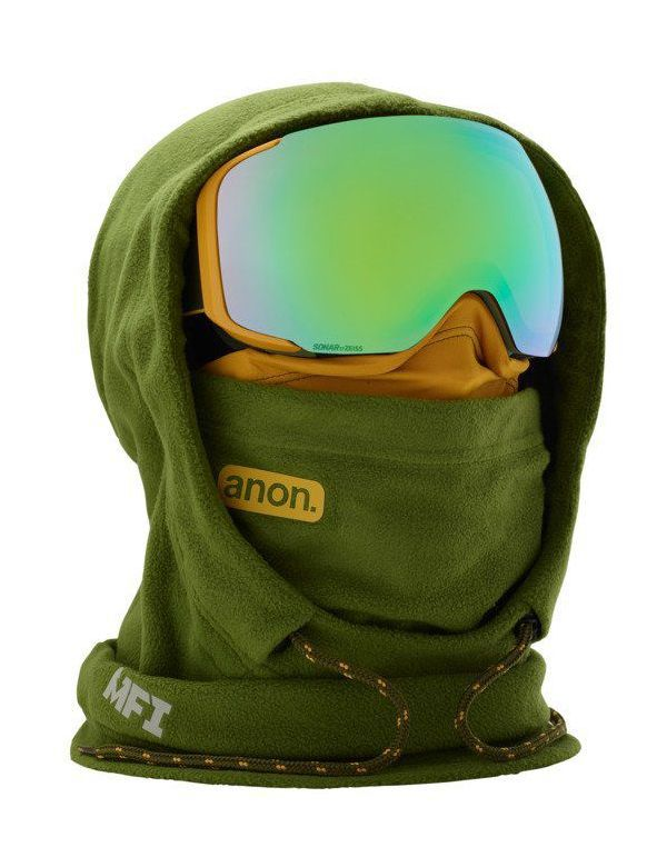 ANON MFI XL HOODED CLAVA Green