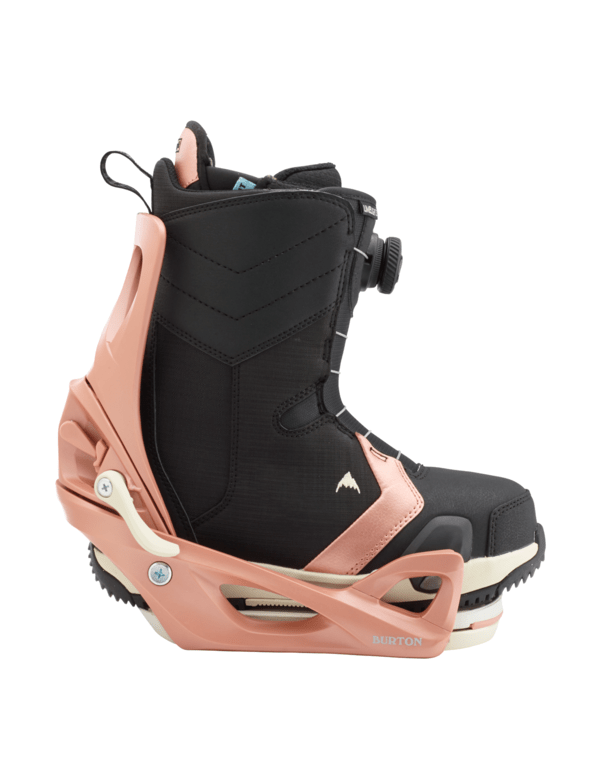 BURTON LIMELIGHT STEP ON WOMENS BUNDLE Rose gold