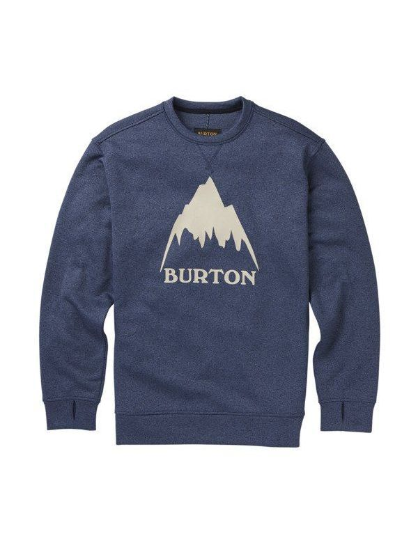 BURTON OAK CREW Indigo heather