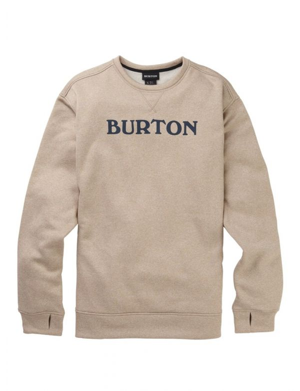 BURTON OAK CREW Plaza taupe heather