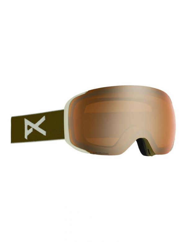 ANON M2 OLIVE SONAR BRONZE + SPARE LENS