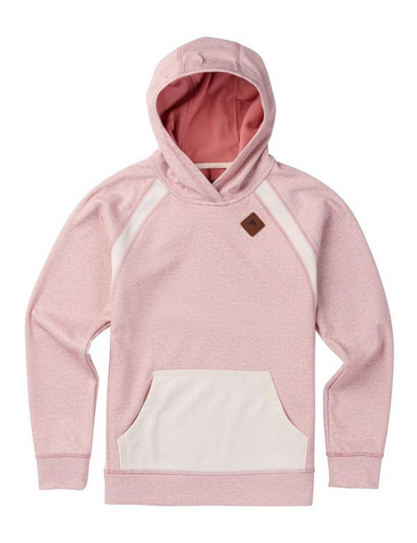BURTON GIRLS HERON PULL OVER dusty rose heather